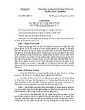 Nghị định số: 03/2016/NĐ-CP