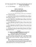 Thông tư liên tịch số: 17/2015/TTLT-BTP-BQP