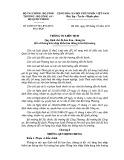 Thông tư liên tịch số: 64/2015/TTLT-BTC-BCT-BCA-BQP