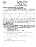 Đề kiểm tra giữa học kỳ 1 có đáp án môn: Tiếng Việt 5 (Năm học 2014-2015)