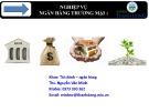 Bài giảng Nghiệp vụ ngân hàng thương mại 1: Chương 1 - ThS. Nguyễn Văn Minh