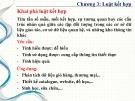 Bài giảng Khai phá dữ liệu - Chương 3: Luật kết hợp