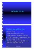 Bài giảng Hệ điều hành (236 trang)