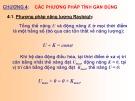 Bài giảng Động lực học công trình - Chương 4: Các phương pháp tính gần đúng