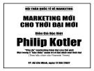 Bài giảng Maketing mới cho thời đại mới - Philip Kotler