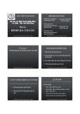 Bài giảng Định giá tài sản - Học viện Ngân hàng