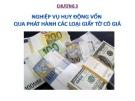 Bài giảng Nghiệp vụ ngân hàng thương mại 1: Chương 3 - ThS. Nguyễn Văn Minh