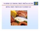 Bài giảng Vi sinh vật thực phẩm - Chương 11: Vi sinh vật trong thực phẩm và sự hư hỏng thực phẩm do vi sinh vật
