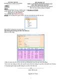 Đề thi học kỳ môn Lập trình Windows nâng cao: Đề 1