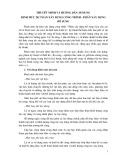 Thuyết minh và hướng dẫn áp dụng định mức dự toán xây dựng công trình - Phần Xây dựng (bổ sung)