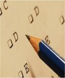 Ngân hàng đề thi trắc nghiệm nhập môn: Matlab (Có đáp án)