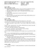Đề thi và Đáp án môn Pháp luật đại cương 2 - ĐH SPKT TP.HCM