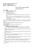 Đề thi và Đáp án môn Pháp luật đại cương - ĐH SPKT TP.HCM
