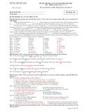 Đề thi thử đại học và cao đẳng lần 1 năm học 2012-2013 có đáp án môn: Tiếng Anh, khối D, A1 - Trường THPT Phù Ninh (Mã đề thi 395)