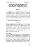 So sánh hiệu quả hai mô hình nuôi tôm càng xanh (Macrobrachium rosenbergii) luân canh và kết hợp với trồng lúa