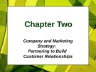 Lecture Principles of Marketing - Chapter 2: Company and Marketing strategy
