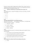 Bài kiểm tra minh họa bài số 2: Kỹ năng tiếng Việt, tư duy logic và IQ