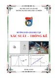 Hướng dẫn giải bài tập xác suất - thống kê