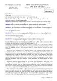 Đề thi tuyển sinh đại học môn Tiếng Anh (năm 2012): Mã đề thi 475