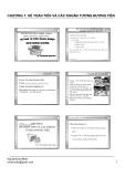 Bài giảng Kế toán tài chính doanh nghiệp: Chương 1 - ThS. Nguyễn Quốc Nhất