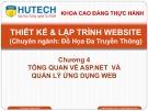 Bài giảng Thiết kế và lập trình Website: Chương 4 - ThS. Dương Thành Phết