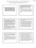 Bài giảng Nguyên lý cơ bản chủ nghĩa Mác-Lênin: Những vấn đề chính trị - xã hội có tính qui luật trong tiến trình cách mạng xã hội chủ nghĩa - Học viện Nông nghiệp Việt Nam
