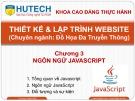 Bài giảng Thiết kế và lập trình Website: Chương 3 - ThS. Dương Thành Phết