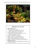 Bài giảng Cây ăn quả đại cương - Đoàn Văn Lư