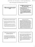 Bài giảng Nguyên lý cơ bản chủ nghĩa Mác-Lênin: Sứ mệnh lịch sử của giai cấp công nhân và Cách mạng xã hội chủ nghĩa - Học viện Nông nghiệp Việt Nam