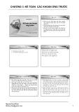 Bài giảng Kế toán tài chính doanh nghiệp: Chương 3 - ThS. Nguyễn Quốc Nhất