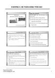 Bài giảng Kế toán tài chính doanh nghiệp: Chương 4 - ThS. Nguyễn Quốc Nhất