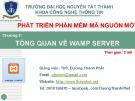 Bài giảng Phát triển phần mềm mã nguồn mở: Chương 2 - ThS. Dương Thành Phết