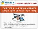 Bài giảng Thiết kế và lập trình Website: Chương 0 - ThS. Dương Thành Phết