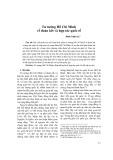 Tư tưởng Hồ Chí Minh về đoàn kết và hợp tác quốc tế