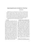 Quan hệ giữa báo chí với chính trị ở Việt Nam