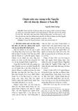Chính sách của vương triều Nguyễn đối với dân tộc Khmer ở Nam Bộ