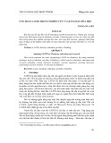 Ứng dụng LATEX trong nghiên cứu và giảng dạy hóa học