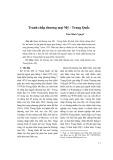 Tranh chấp thương mại Mỹ - Trung Quốc