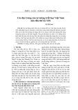 Các đặc trưng của tư tưởng triết học Việt Nam nửa đầu thế kỷ XIX