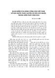 Quan điểm của Đảng Cộng sản Việt Nam về nhà nước pháp quyền xã hội chủ nghĩa trong Hiến pháp năm 2013