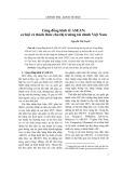 Cộng đồng kinh tế ASEAN: cơ hội và thách thức cho thị trường tài chính Việt Nam