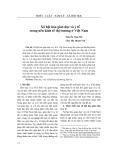 Xã hội hóa giáo dục và y tế trong nền kinh tế thị trường ở Việt Nam