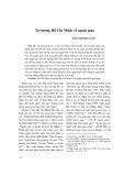 Tư tưởng Hồ Chí Minh về ngoại giao