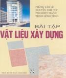 Ebook Bài tập vật liệu xây dựng: Phần 2