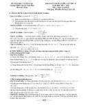 Đề thi khảo sát chất lượng lần thứ II năm học 2013-2014 môn Toán khối D - Trường THPT Chuyên Vĩnh Phúc