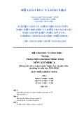 Tài liệu phân phối chương trình THCS môn: Âm nhạc 6 (Năm học 2014-2015)