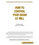 Ebook How To Control Your Brain At Will - Dr Roger Vittoz