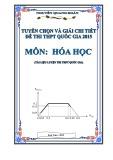 Ebook Tuyển chọn và giải chi tiết đề thi THPT quốc gia năm 2015 môn: Hóa học