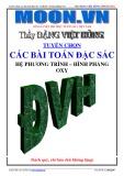 Ebook Tuyển chọn các dạng toán đặc sắc về hệ phương trình, hình phẳng oxy - GV. Đặng Việt Hùng