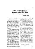 Công nghiệp Việt Nam trên con đường phát triển - Lê Dương Quang